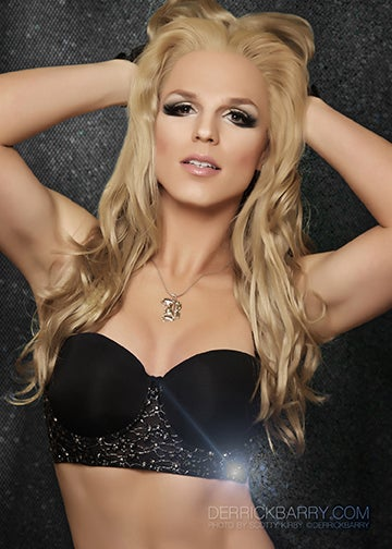 """Image of Derrick Barry Signed 5""""x7"""" Glow Photo by Scotty Kirby"""