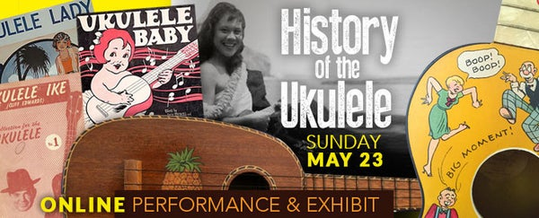 Image of History of the Ukulele: Online Concert & Showcase