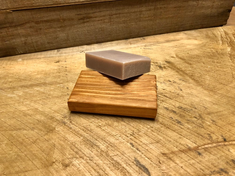 Image of Cherry Soap Dish and Soap Set