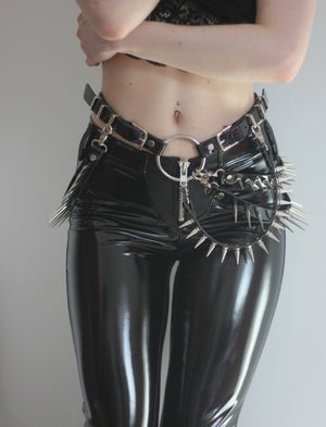 Image of MADE TO ORDER - KILLER SPIKED WAISTBELT  (Size XS - XL)
