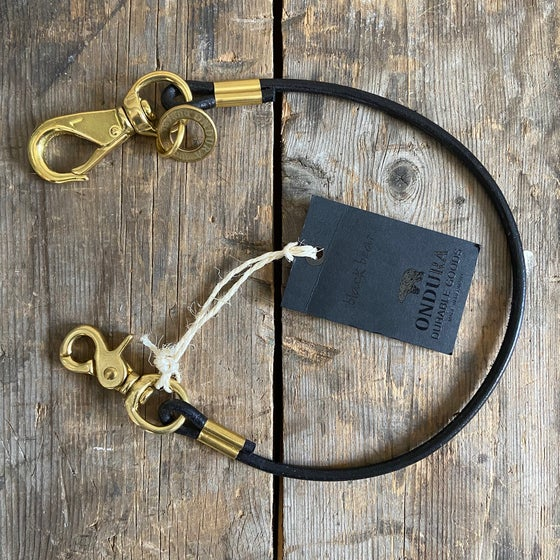 Image of ONDURA WALLET LANYARD BLACK