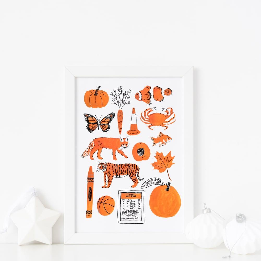 Image of Orange things