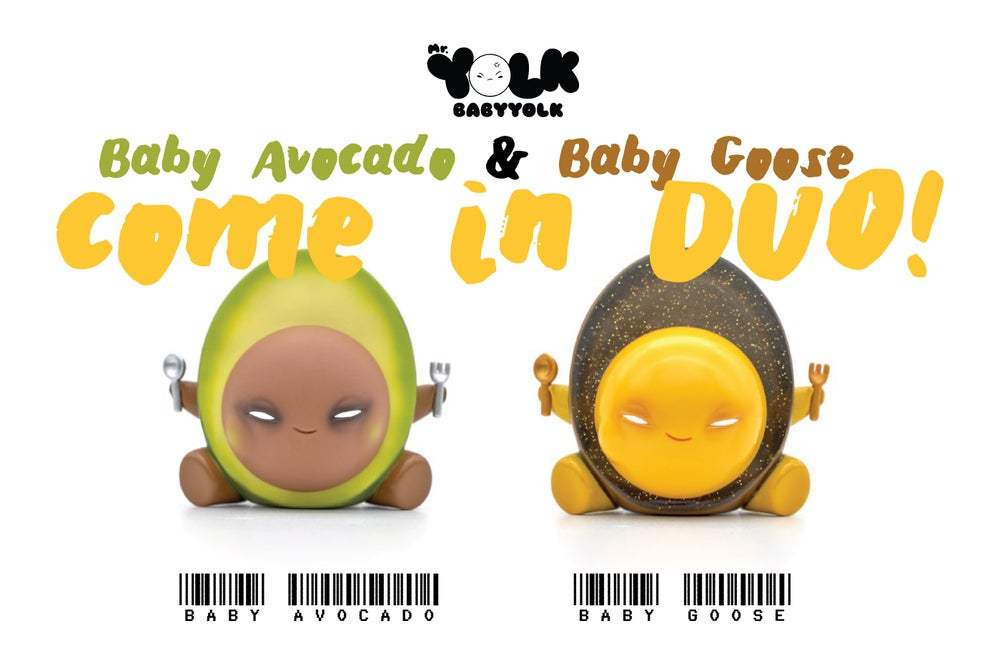 Image of Baby Yolk - Baby Avocado & Baby Goose【 Duo Set 】