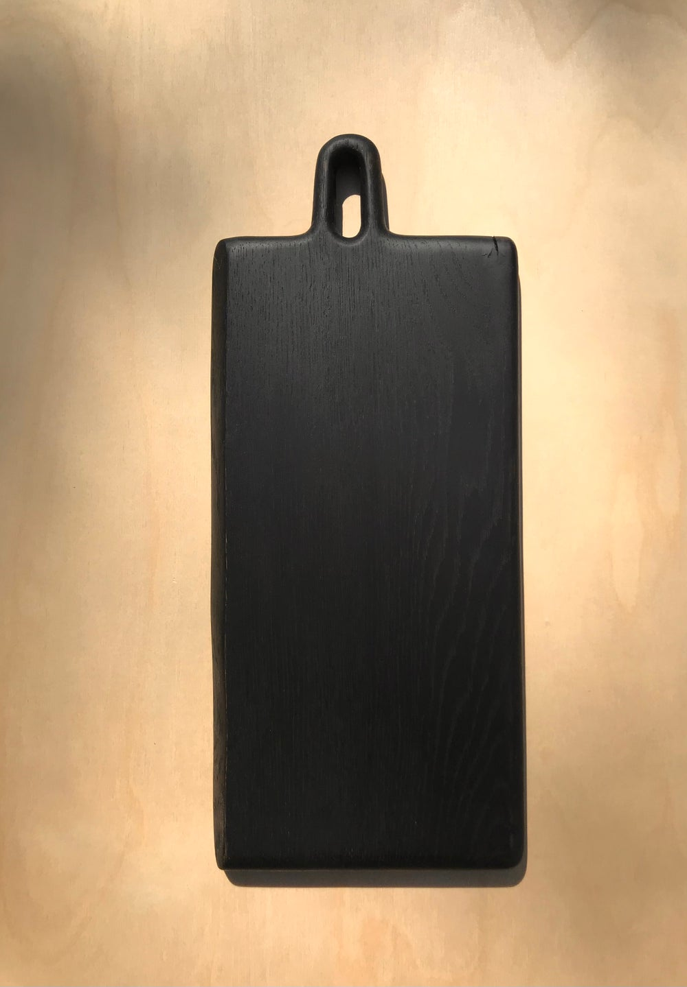 Image of planche #1 en chêne noirci
