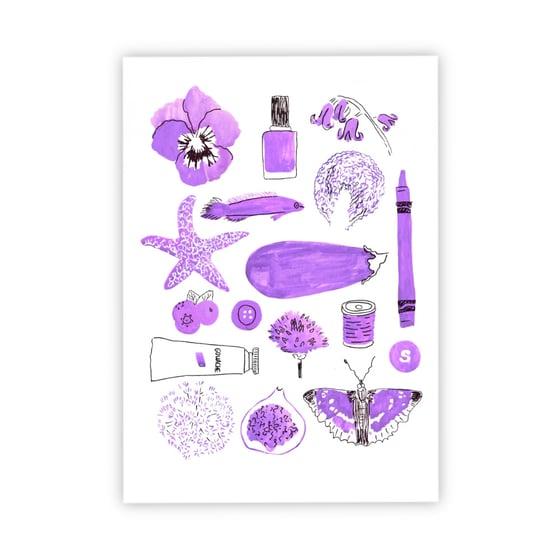 Image of Purple things