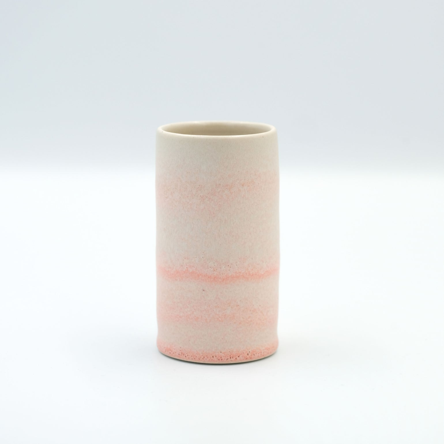 Image of MINI CYLINDER IN CORAL GLAZE