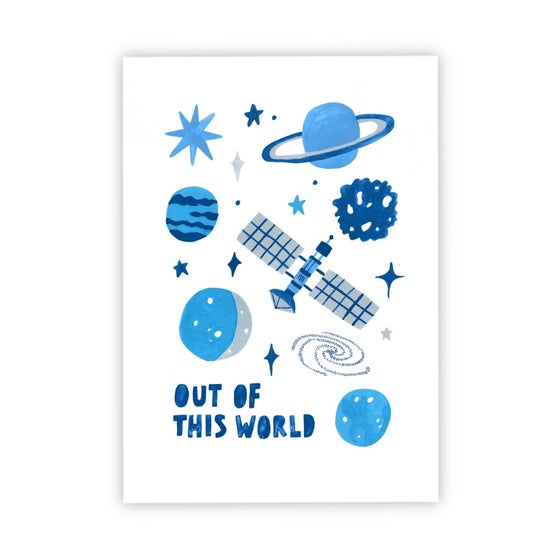 Image of Out Of This World Space print