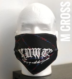 Image of ///M Cloth Embroidered KUWTB Facemask