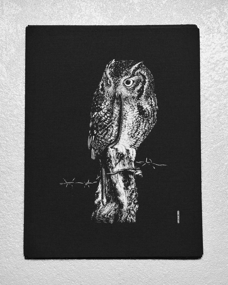 Image of »Little Owl« Back Patch