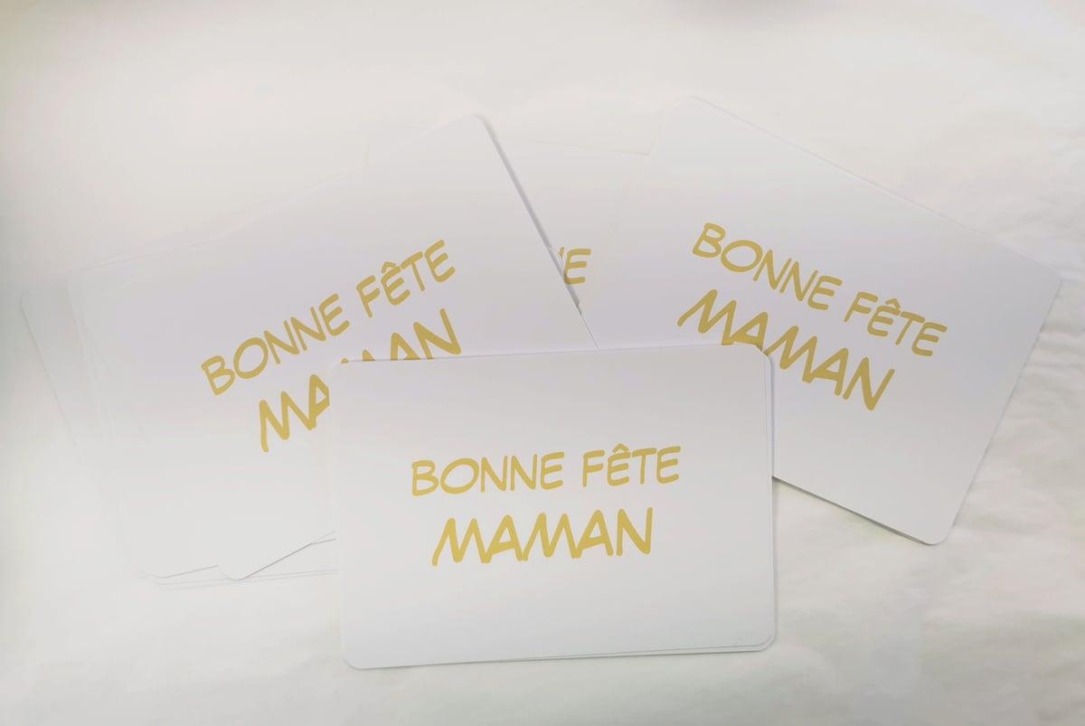 Image of Carte Maman ❤️/bonne fête maman
