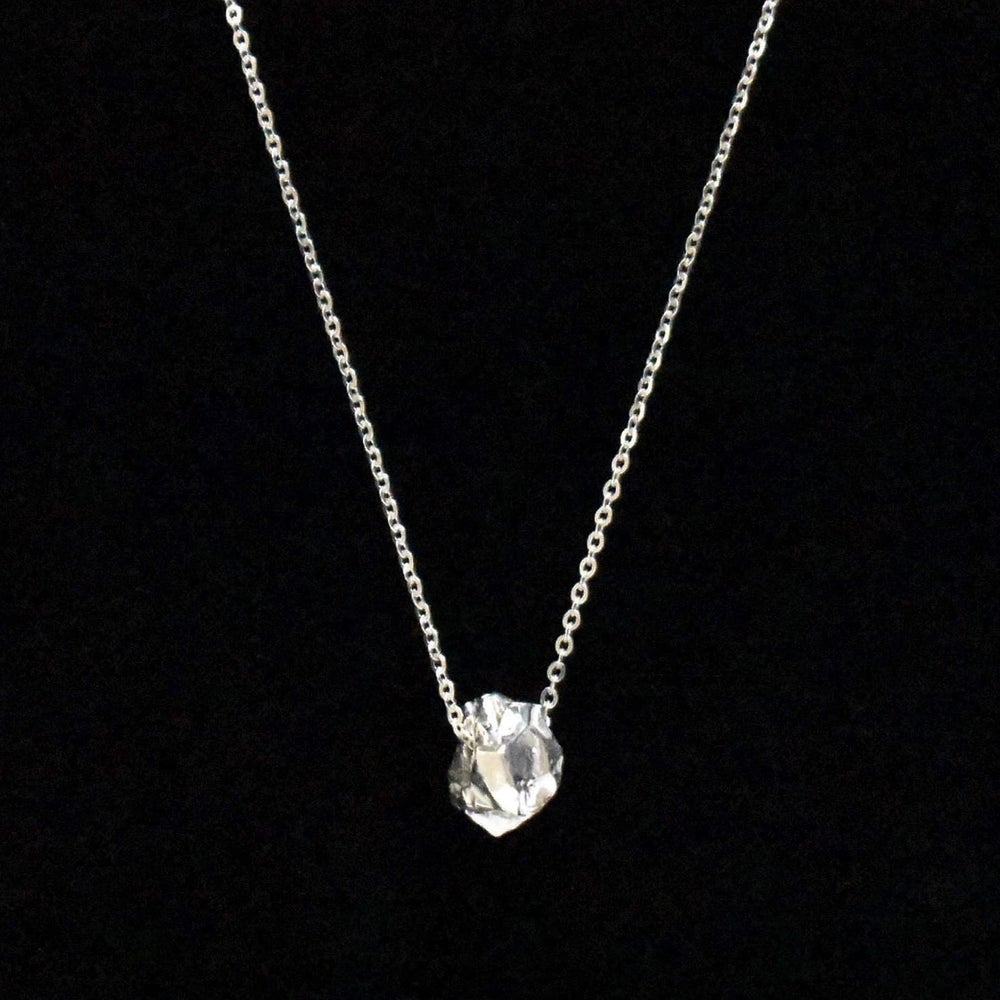 Image of Silver Rock necklace