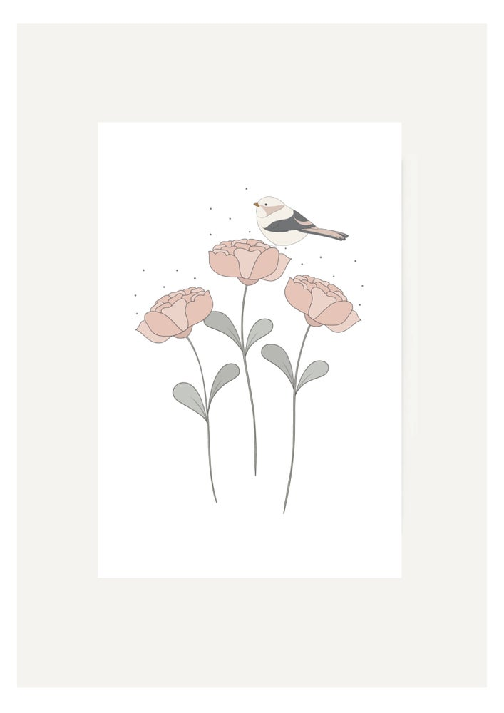 Image of Carte Petit oiseau d'amour