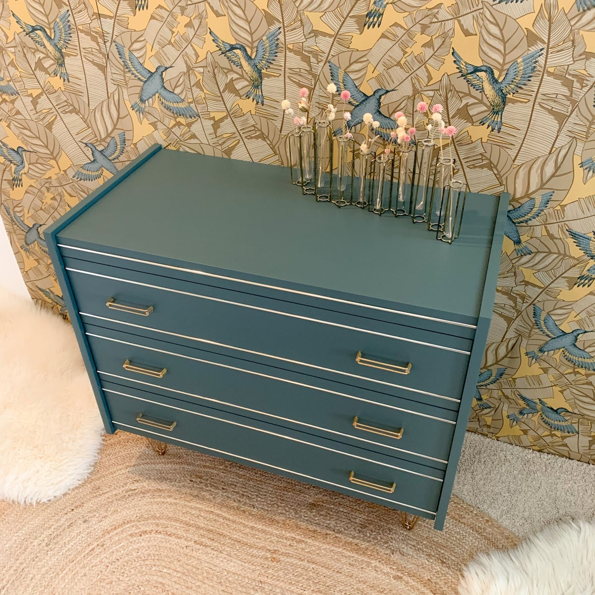 Image of VENDUE/SOLD OUT Commode Filaire Colibris