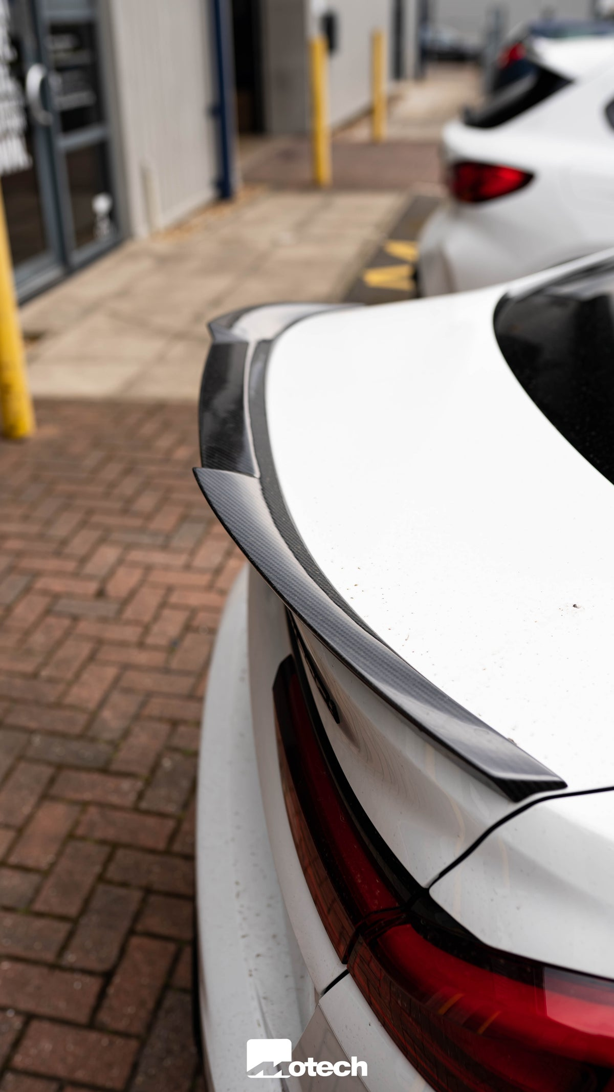Image of BMW 2 SERIES (2020+, F44) CARBON FIBRE COMPETITION REAR SPOILER