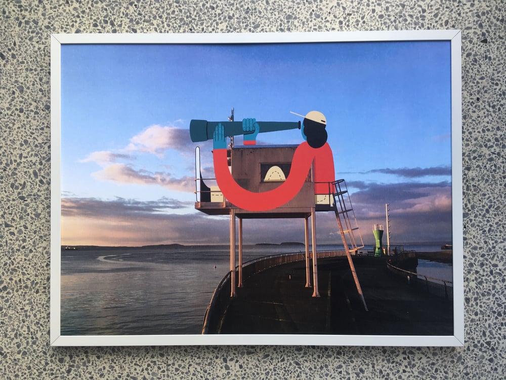Image of ' Eye Spy ' A3 Giclee Print
