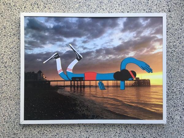 Image of ' Swim ' A3 Giclee Print