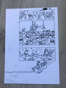 Image of Ilustraciones interiores. Fanhunter: Dos semanas después. 12.