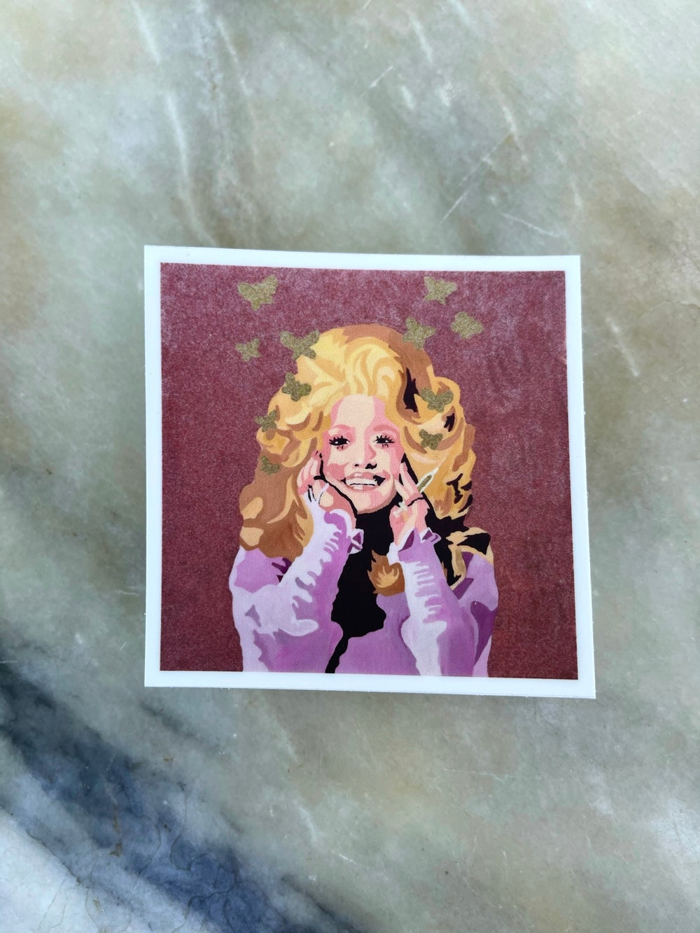 Image of COVID Dolly Sticker