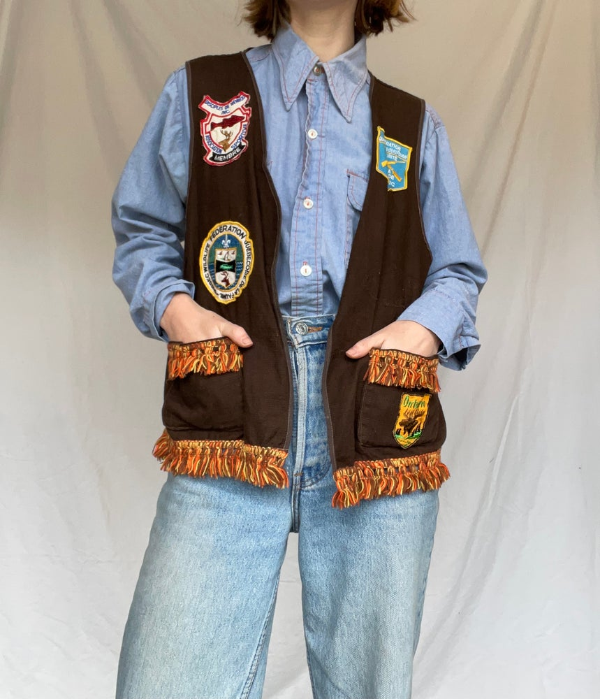Image of 70's Patch Vest