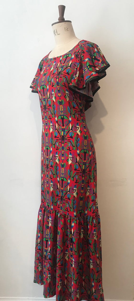 Image of Fiesta maxi dress