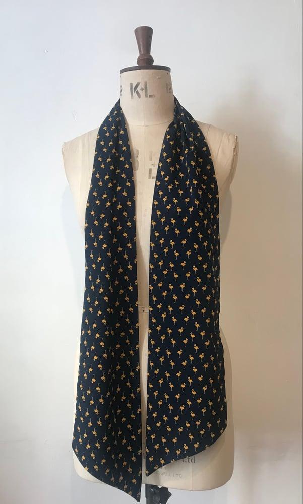 Image of Flamingo neck tie