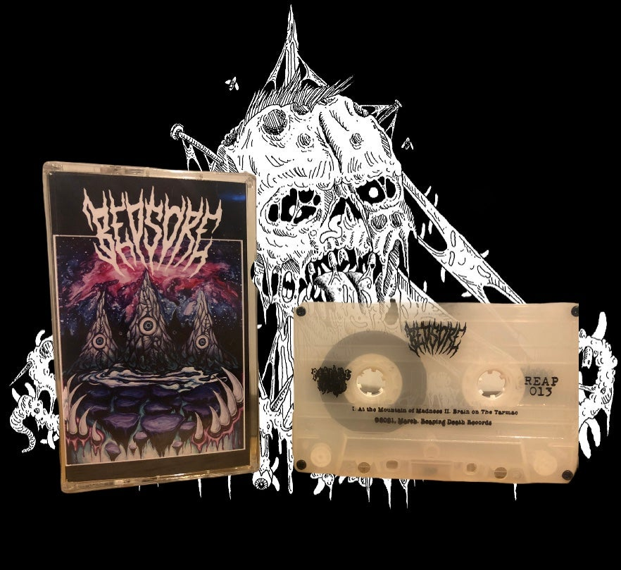 Image of Bedsore - self titled Demo 2018 repress (Reaping Death)