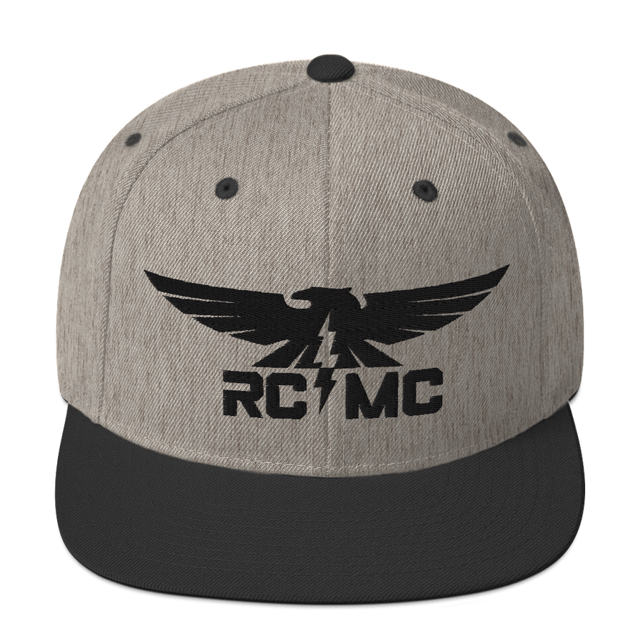Image of Thunder Bird Snapback Heather Gray Collection