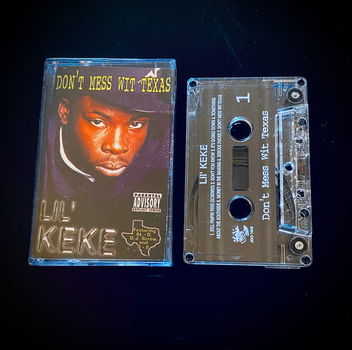 """Image of Lil' KEKE """"Don't Mess Wit Texas"""""""