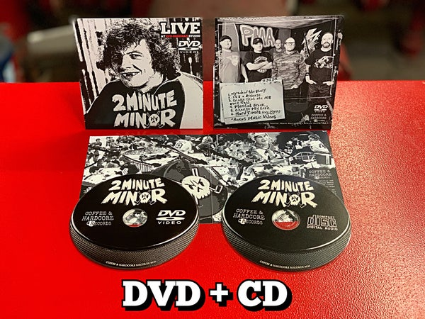 Image of PREORDER ENDS 5/26/2021 - Live at Red Obsidian Studio DVD and CD combo pack