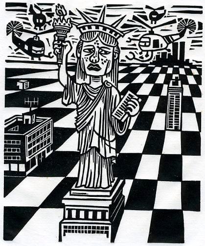 Image of La Liberté déménage    Liberty Is Moving