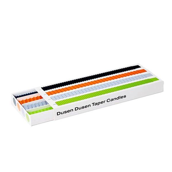 Image of Dusen Dusen Taper Candles Multi