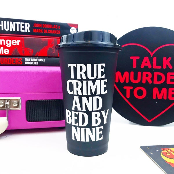 Image of True Crime Reusable Cup