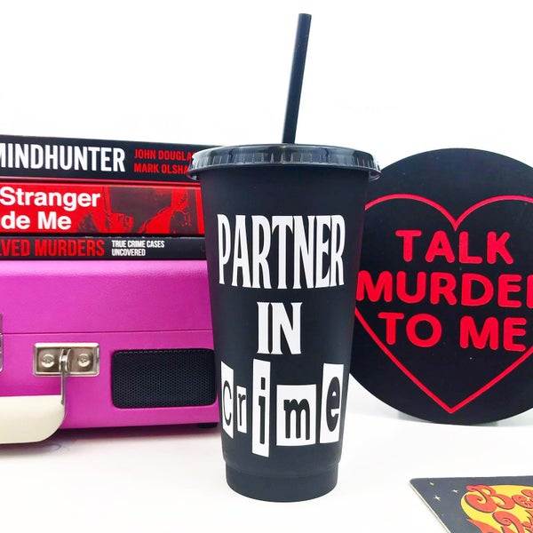 Image of Partner in Crime Reusable Cold Cup