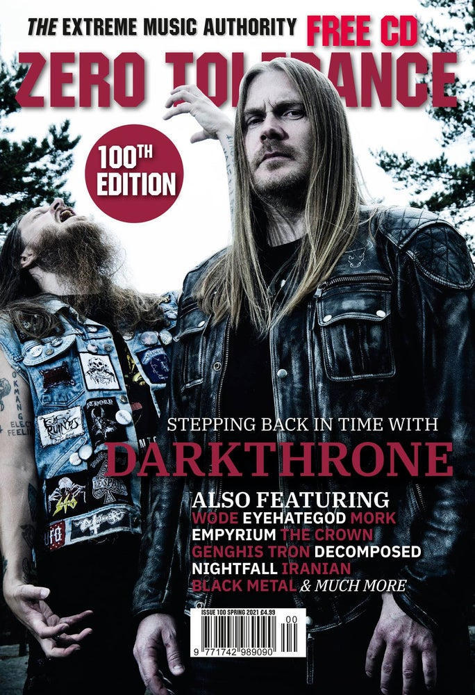 ZERO TOLERANCE MAGAZINE -  ISSUE 100