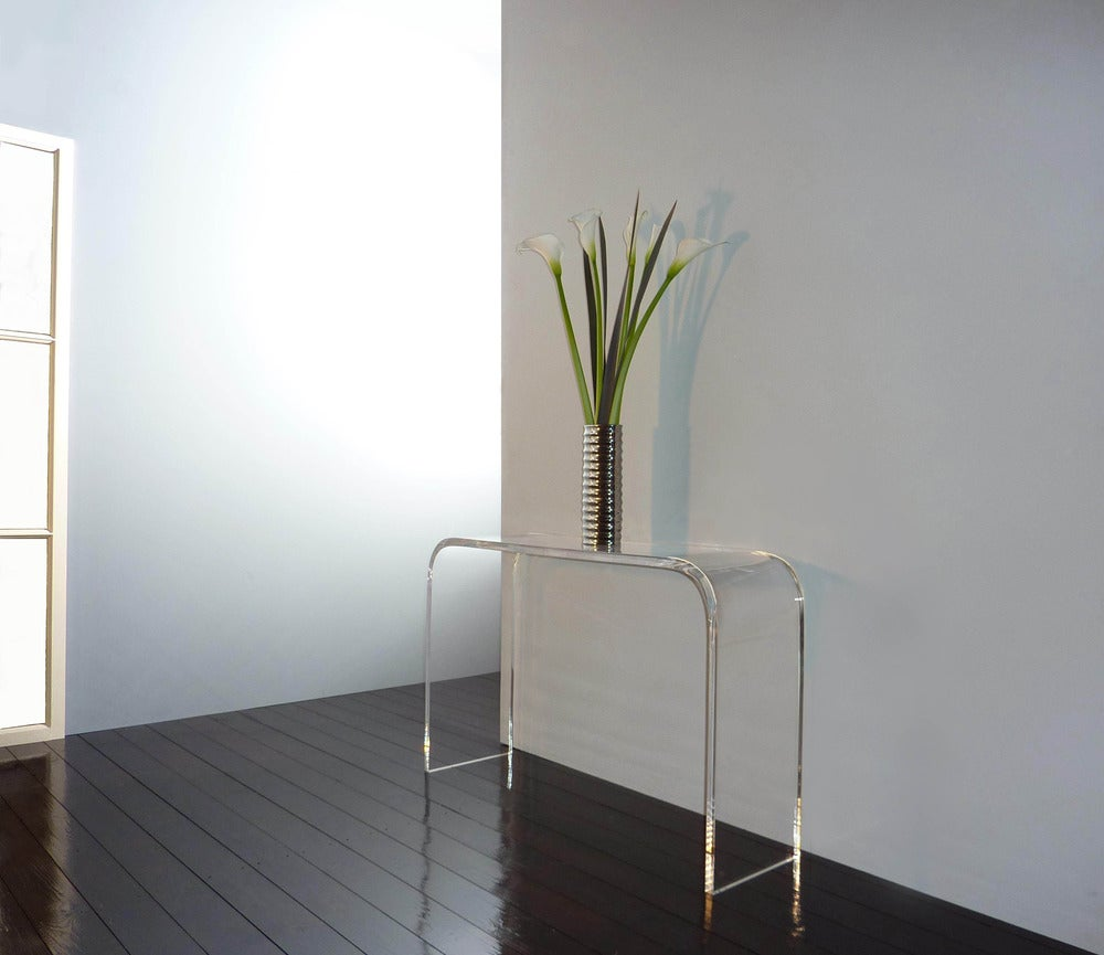 Ralph Marks Perspex Acrylic Furniture UK Acrylic Console Table UK