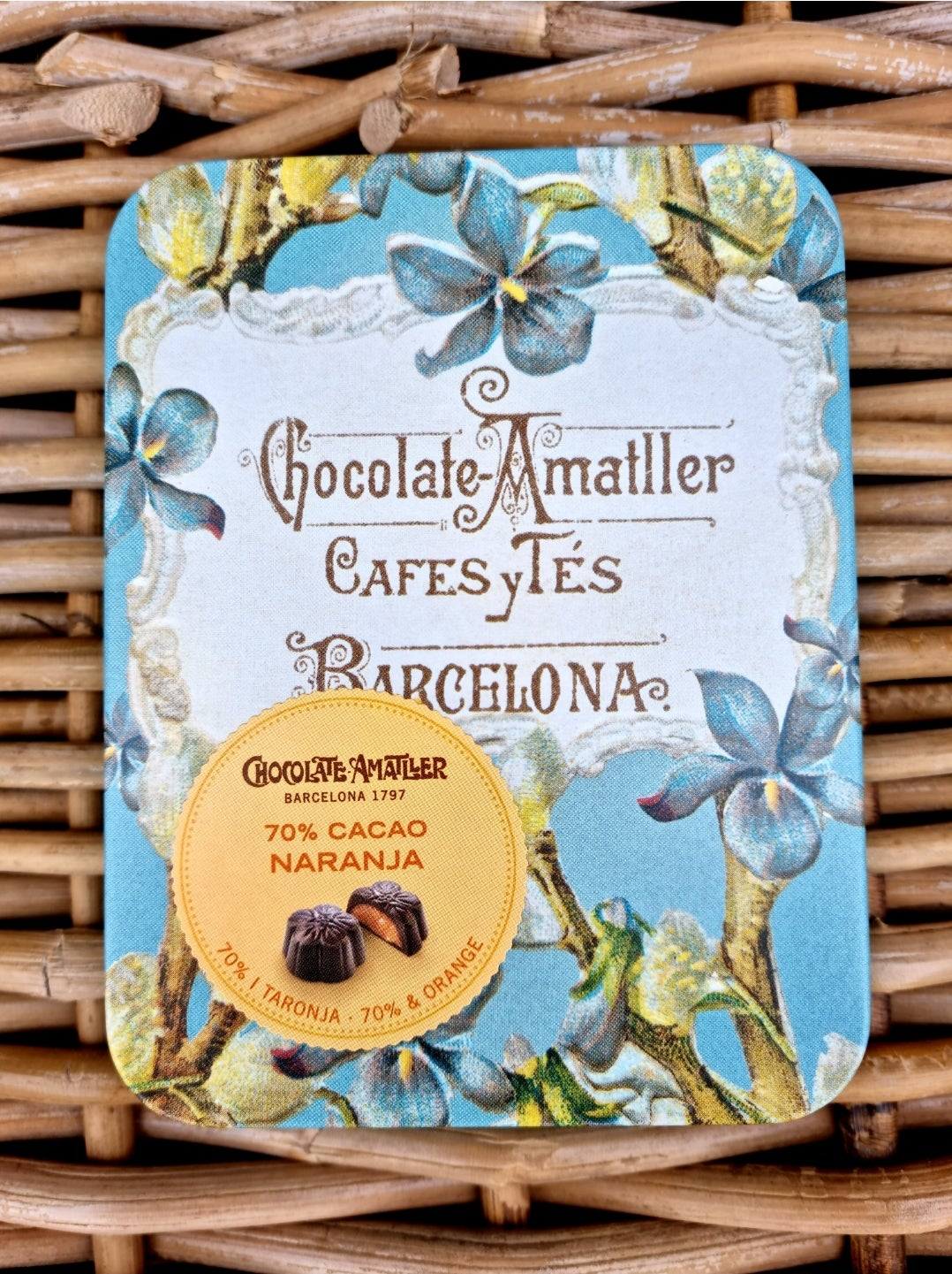 Image of Amatller Chocolate Flowers