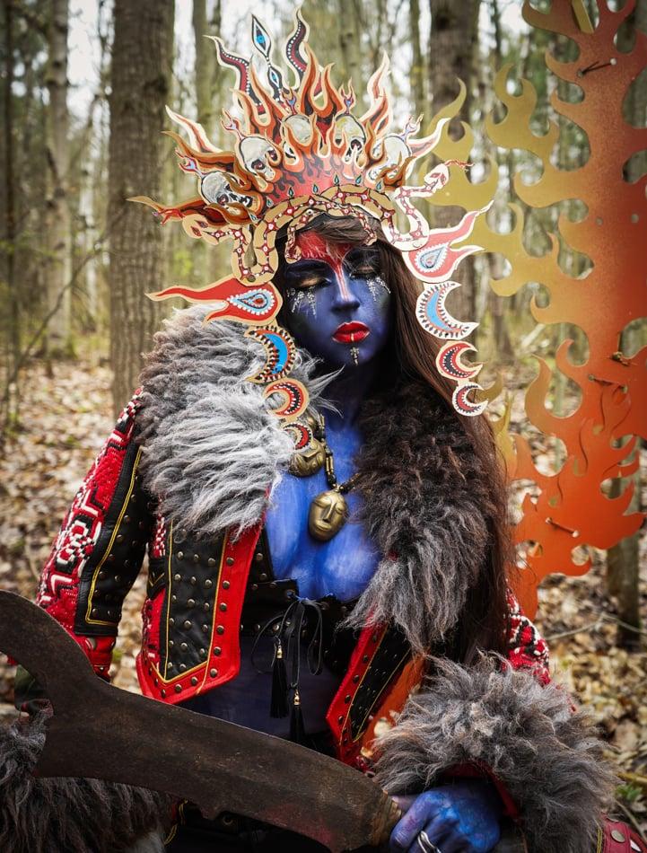 Image of Toxic Vision Goddess bralette