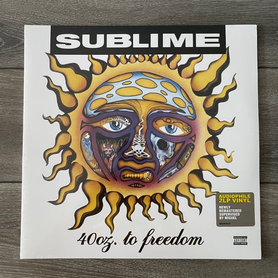 Image of Sublime - 40 Oz. To Freedom Vinyl 2xLP