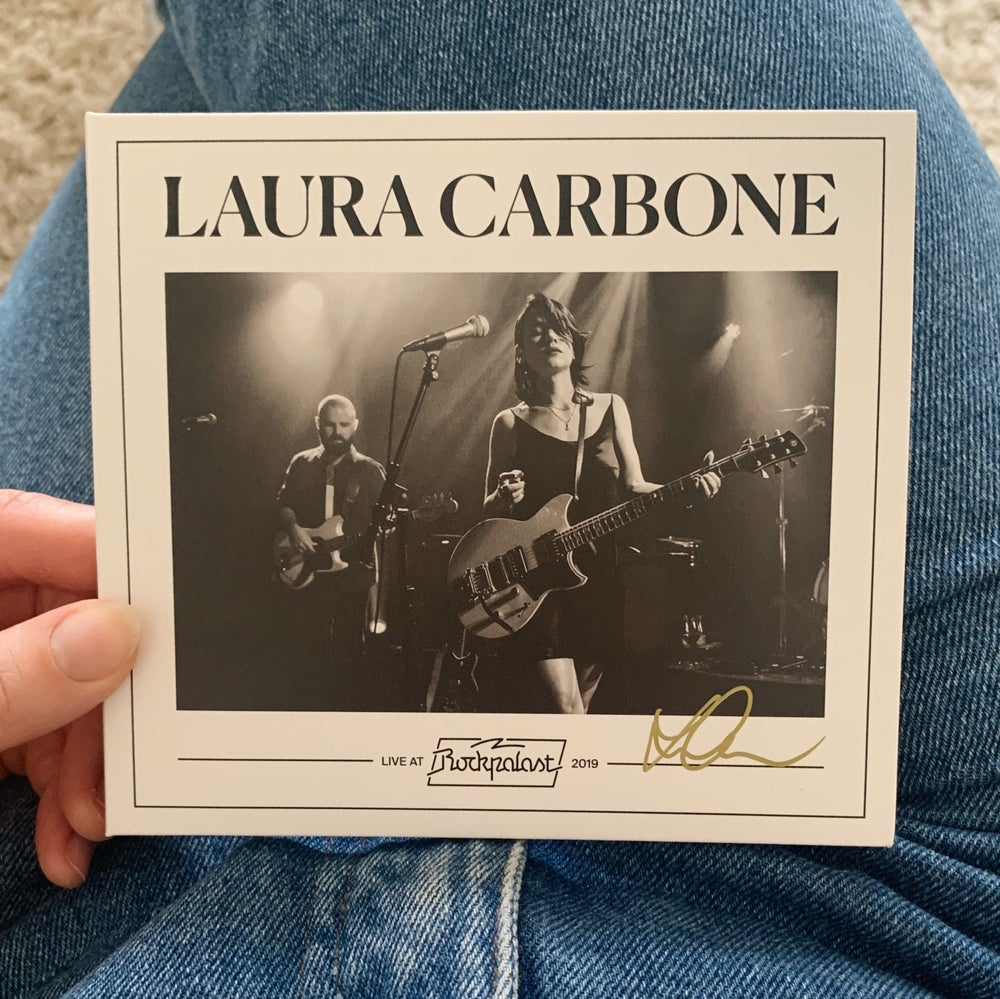 Image of LIVE AT ROCKPALAST CD  (signed / eco friendly)