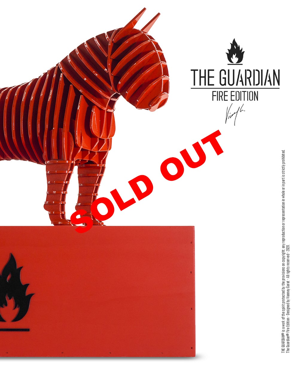 Image of The Guardian® - Fire Edition - Limited Edition - 10 units