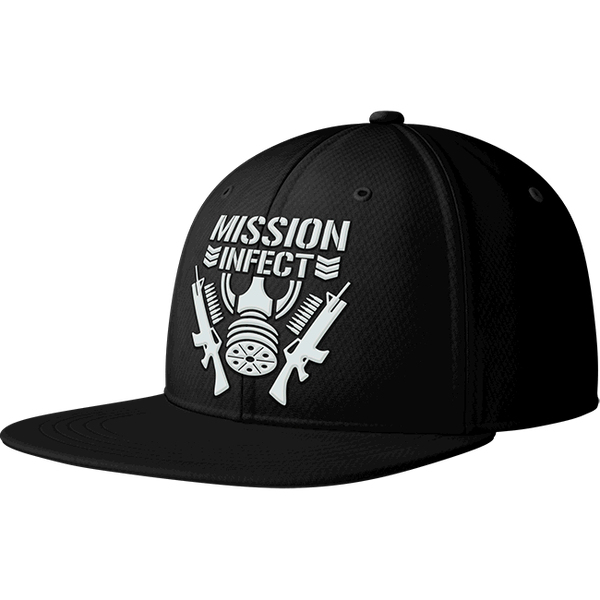 Image of MISSION : INFECT Embroidered Snapback (Black)