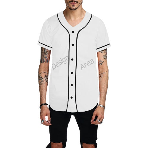 Image of All over print Baseball jersey