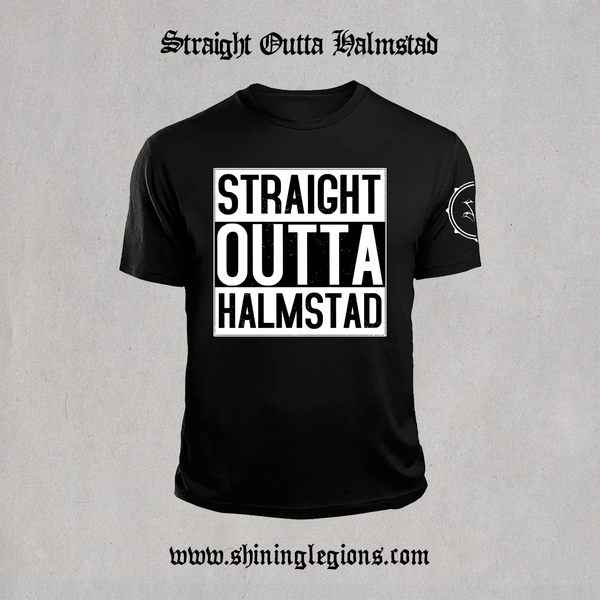 "Image of PRE-ORDER Shining ""Straight Outta Halmstad"" T-Shirt"