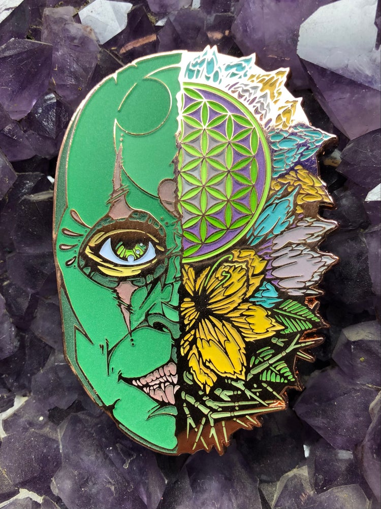 Image of Exuberant Mask of Life x Cody Isbill