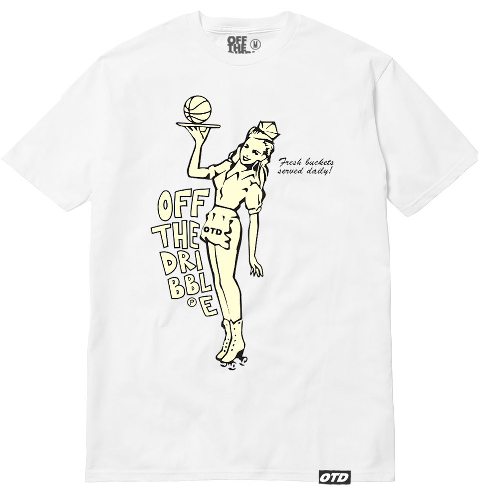 Image of Served up daily tee