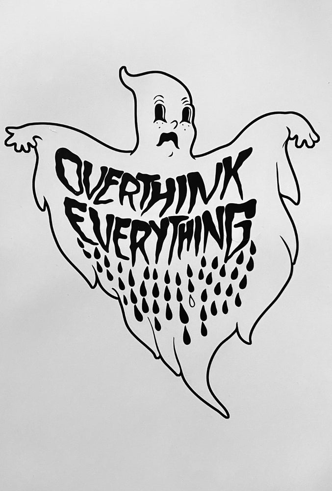Image of Anxiety ghost 11x17 digital print