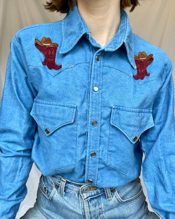 Image of Boot Scootin' Boogie Western Shirt