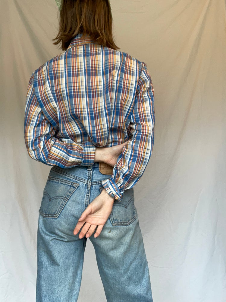 Image of 70's Country Plaid
