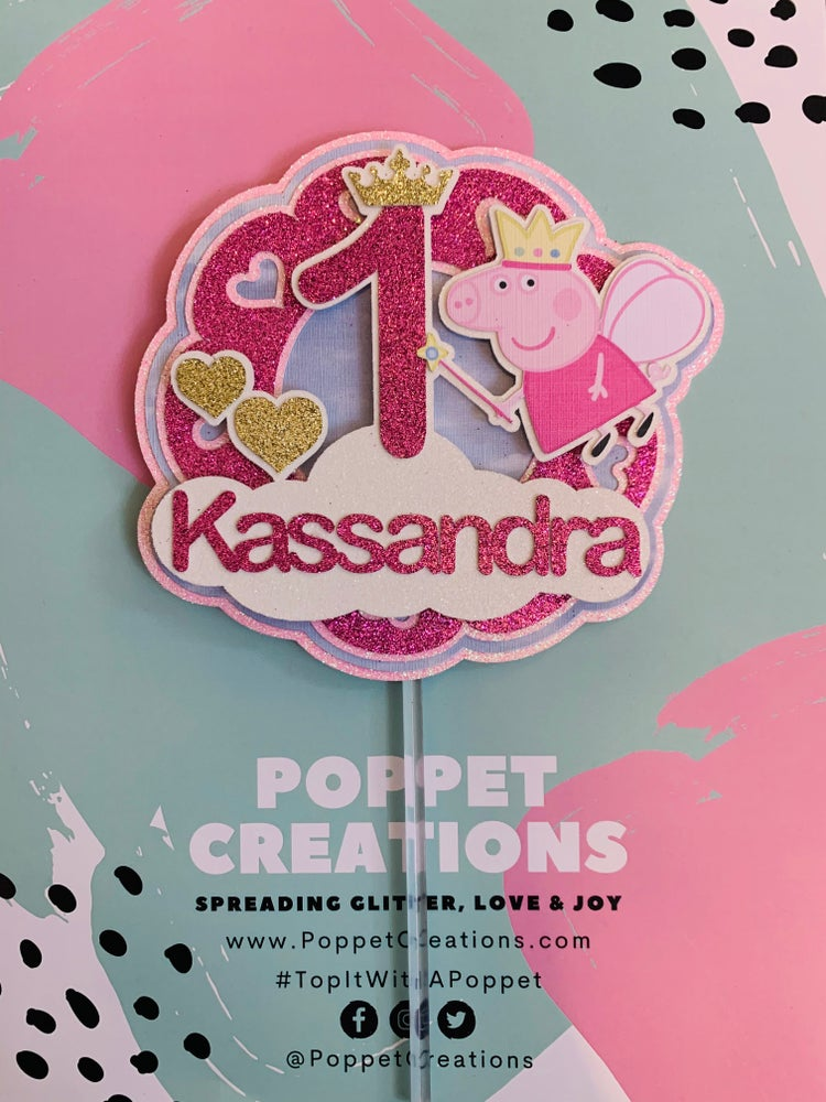 Image of Peppa Pig topper