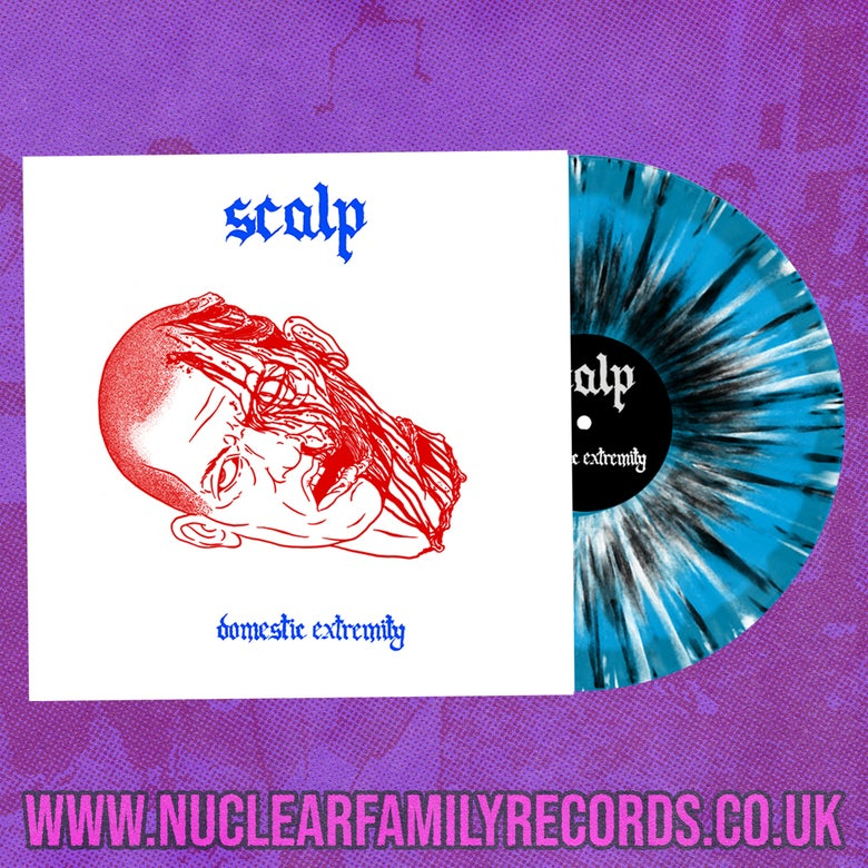 """Image of NFR080 - Scalp """"Domestic Extremity"""" LP"""